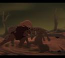 Битва Симбы с изгнанниками