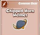 Chipped Horn Helmet