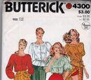 Butterick 4300 A