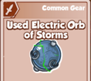 Used Electric Orb of Storms