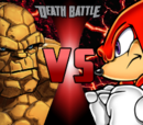 The Thing VS Knuckles