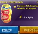 Veteran Técnico Mask