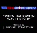 When Halloween Was Forever
