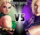 Cammy White (Street Fighter) vs. Nina Williams (Tekken)
