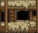 Двухъярусная кровать хижины