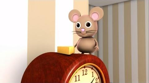 Hickory Dickory Dock - Nursery Rhymes - HD Version from LittleBabyBum