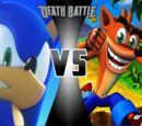Crash Bandicoot vs Sonic the Hedgehog