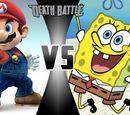 Mario VS SpongeBob Squarepants