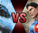 Superman vs Godzilla