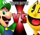 Luigi vs. Pac-Man