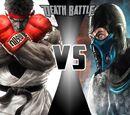 Ryu VS Sub-Zero