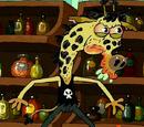 Psychopath Giraffe/Appearances