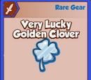 Very Lucky Golden Clover