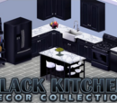 Black Kitchen Decor Collection