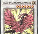 Dragón de la Rosa Negra Luz de Luna