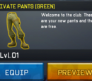 Private Pants (Green)