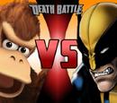 Donkey Kong VS Wolverine