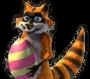Springtime Raccoon