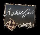 Cologne 2015 autographs