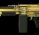 Золотой M249 Para