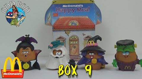 Halloween McNugget Buddies - Happy Meal Toys Review - Box 9