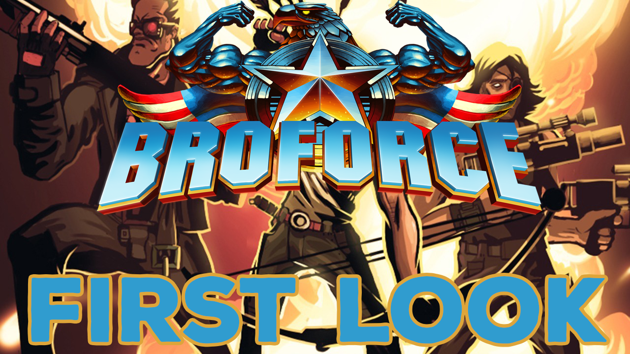Broforce OSX - First Look