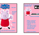 Peppa Pig the Interactive Pig (furby fake)