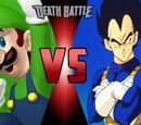 Luigi vs Vegeta