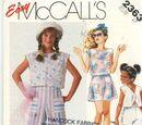 McCall's 2363 B
