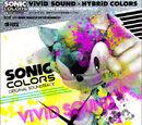 Vivid Sound X Hybrid Colors: Sonic Colors Original Soundtrack