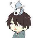 HorohoroDori with his mascot.png