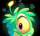 Puffle Extraterrestre Verde