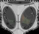 Cubo de Redirección Láser Contrapesado de Aperture Science