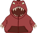 Le Sweat à Capuche Allosaurus