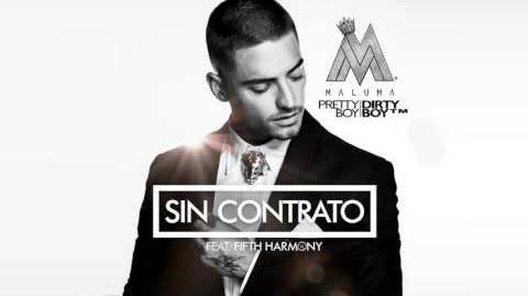 Maluma - Sin Contrato (feat. Fifth Harmony) (Audio)