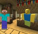 Steve vs Robloxian death battle