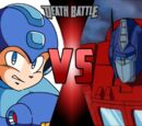 Mega Man vs Optimus Prime