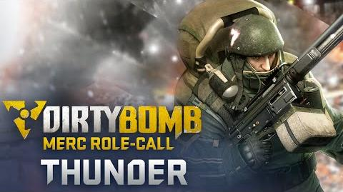 Dirty Bomb Thunder – Merc Role-Call