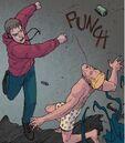 Peter Parker (Earth-22191) Vs. Edward Brock (Earth-22191) from Spider-Verse Vol 2 4 001.jpg