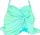 Among the Stars Mint Dress