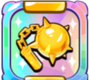 Splendidly Shiny Golden Mace