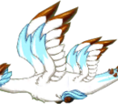 Snowy Bronze Dragon