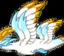 Snowy Gold Dragon