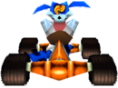 CTR Ripper Roo In-Kart (Front).png