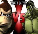 Donkey Kong VS Hulk