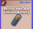Recharable AA Lithium Battery