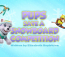 Pups Save a Snowboard Competition