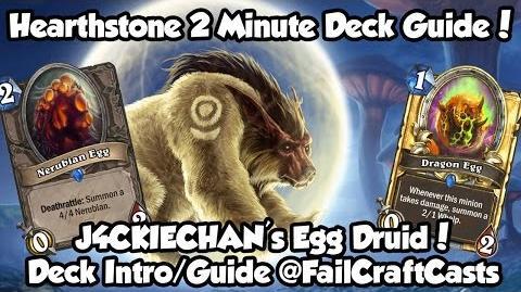 JackieChan's Legendary Egg Druid! Hearthstone 2 Minute Deck Guide