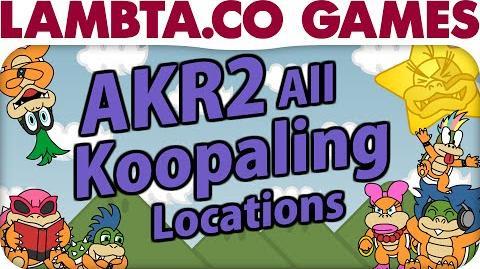 A Koopa's Revenge 2 - All Koopaling Locations LTG