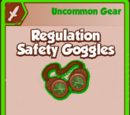 Regulation Safety Goggles